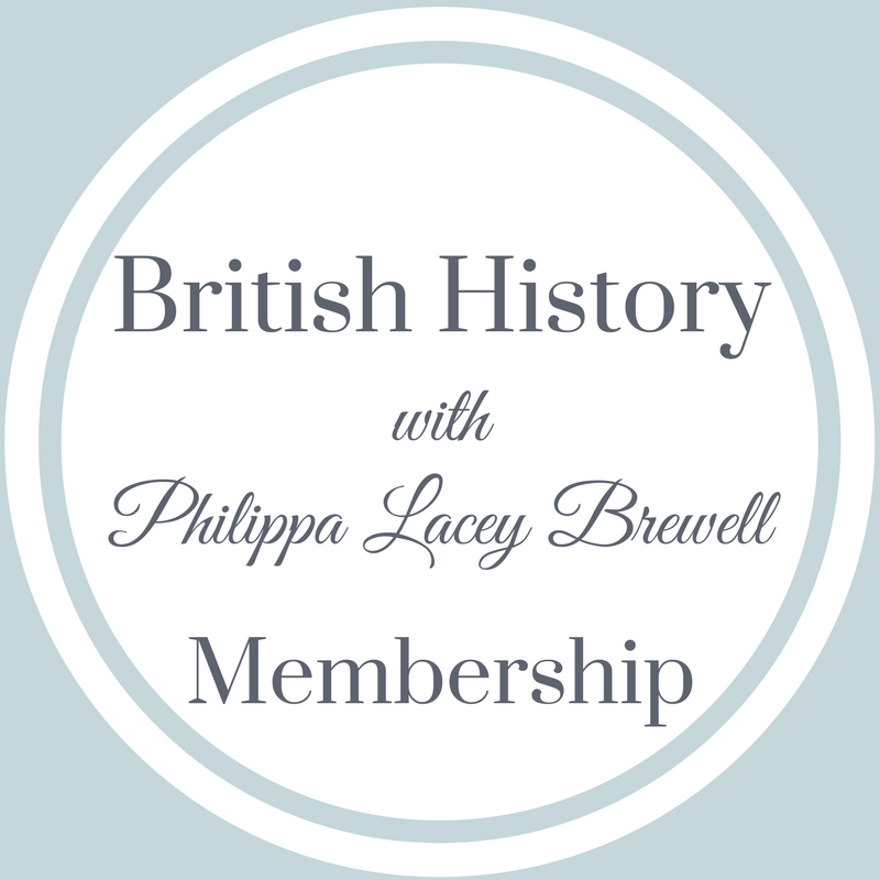 British History with Philippa Lacey Brewell Membership Subscription