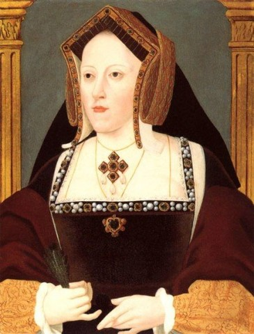 Catherine of Aragon dies, 7th January 1536.